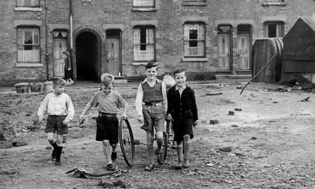 The good old days when children were free to play